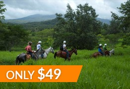 horse back riding congo trail costa rica
