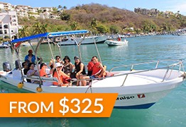 huatulco fishing panga tour
