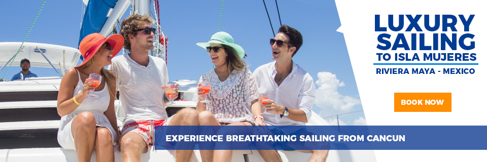 Luxury Sailing to Isla Mujeres